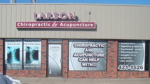 Chiropractic Lincoln NE Office front door
