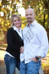 Chiropractor Lincoln NE Chad Larson with wife
